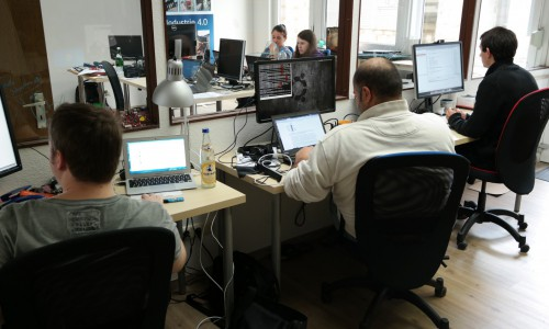 bitstars team at work