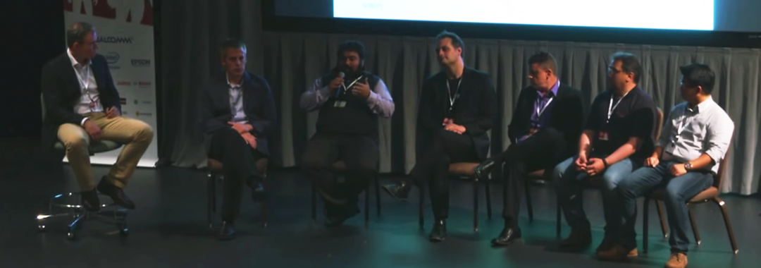 Panel Talk with bitstars CEO Mostafa Akbari at AWE 2015